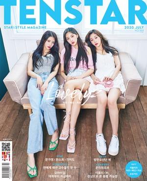'TEN STAR 커버스토리' 러블리즈 미주·지수·예인의 꿈꾸는 계절